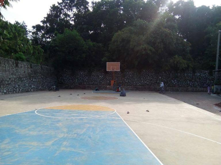 Lapangan Basket di Puri Nirana Cigelam, perumahan syariah purwakarta