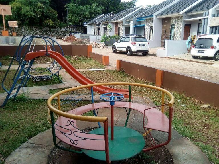 play ground di Puri Nirana Cigelam, perumahan syariah purwakarta