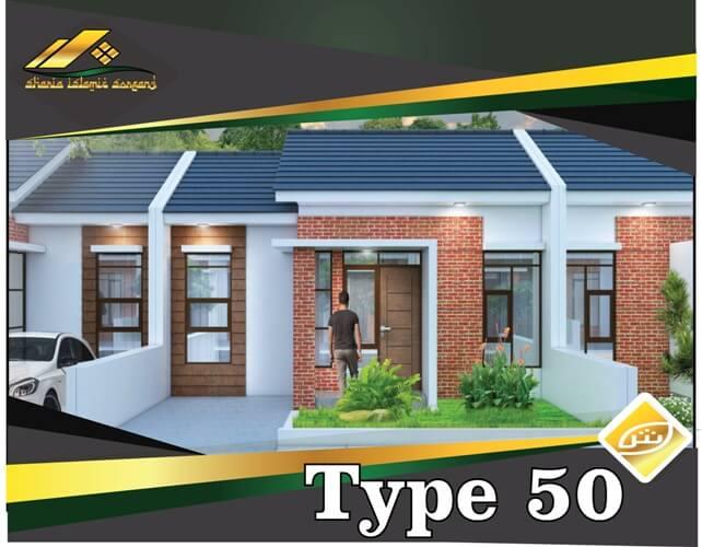 rumah nyaman luas type 50