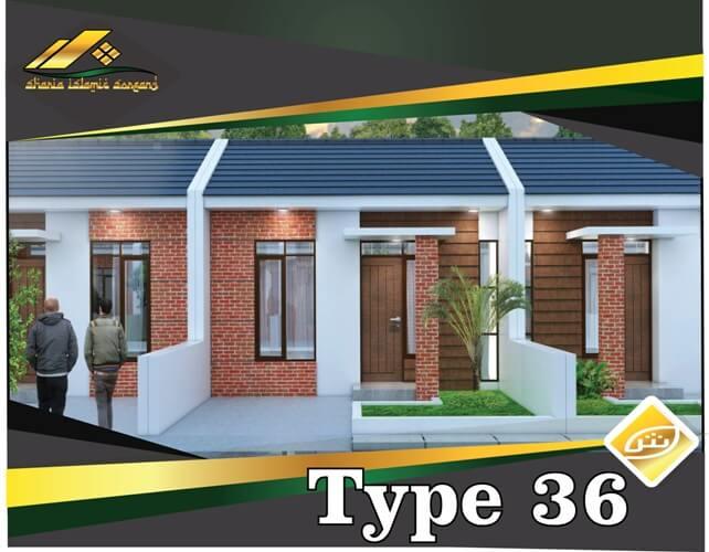 rumah syariah minialis type 36