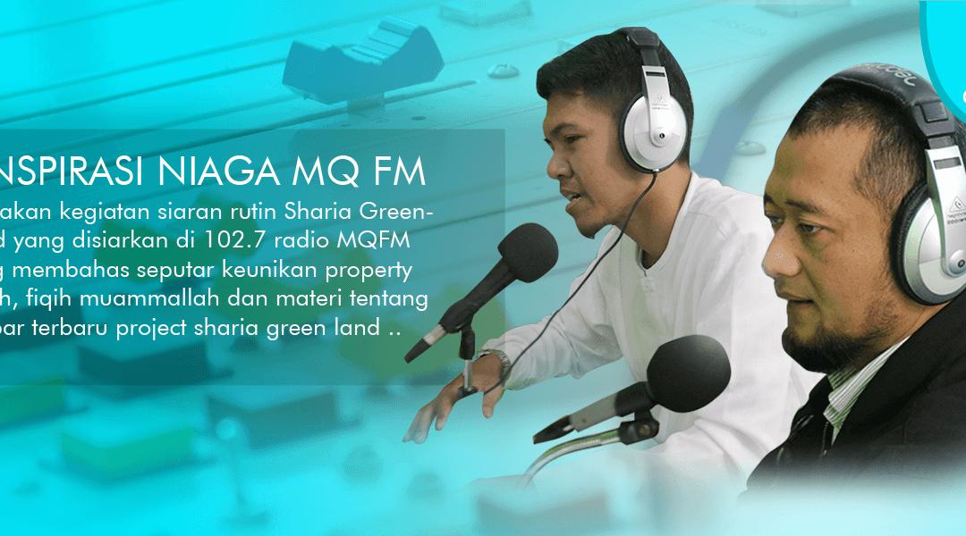 Talkshow PT. Sharia Green Land Di Radio MQ FM