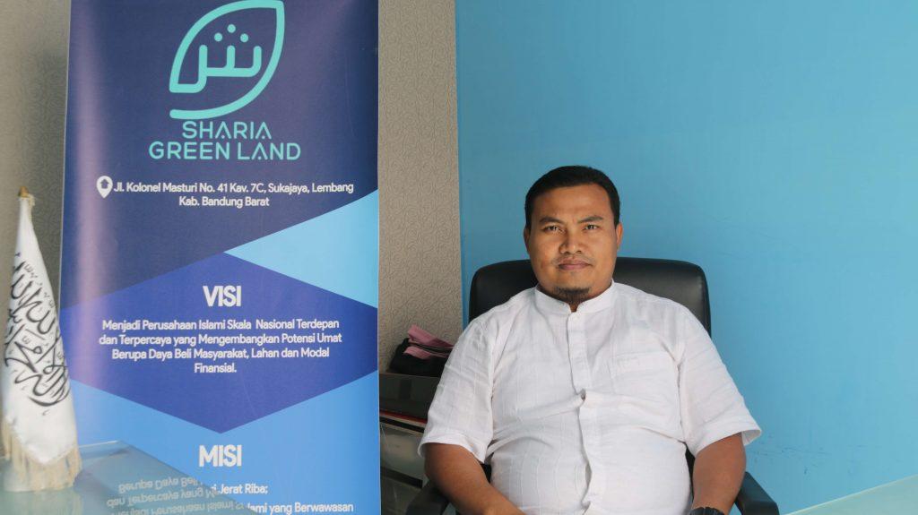 Dandi Irawan ST , Founder Sharia Green Land, developer properti syariah