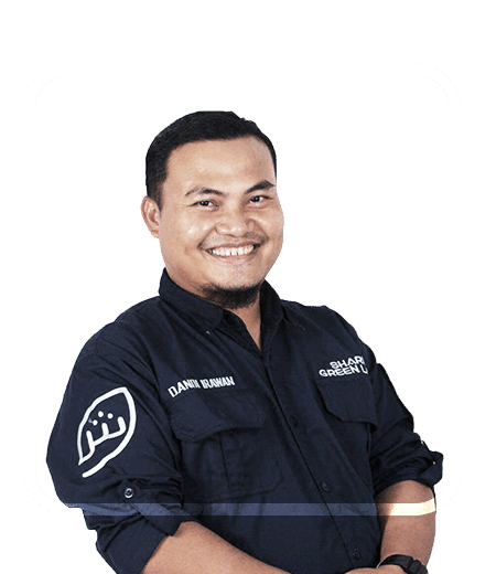 Dandi irawan ST, founder PT Sharia Green Land