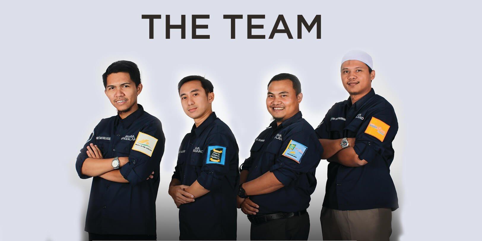 team holding Sharia Green Land, Developer Property Syariah
