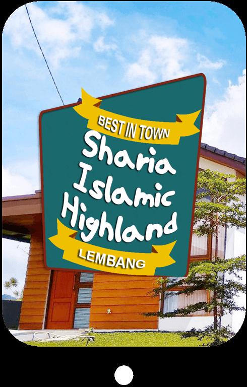 Sharia Islamic Highland, Perumahan syariah di Lembang yang memiliki konsep rumah