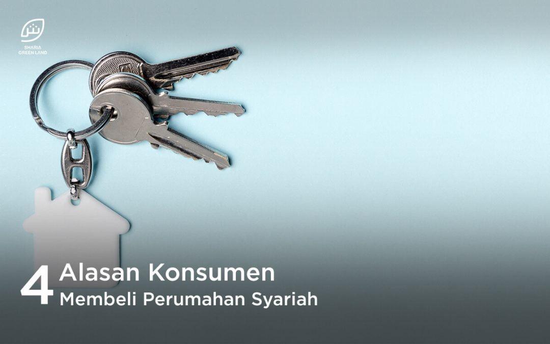 Ini Dia, 4 Alasan Konsumen Membeli Perumahan Syariah!