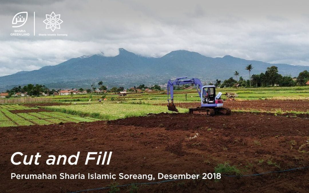 Sharia Islamic Soreang Update: Pengerjaan Cut and Fill