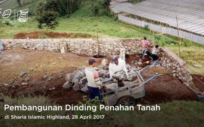 Dinding Penahan Tanah Sharia Islamic Highland