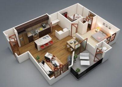 denah rumah minimalis sederhana yang bisa anda aplikasikan