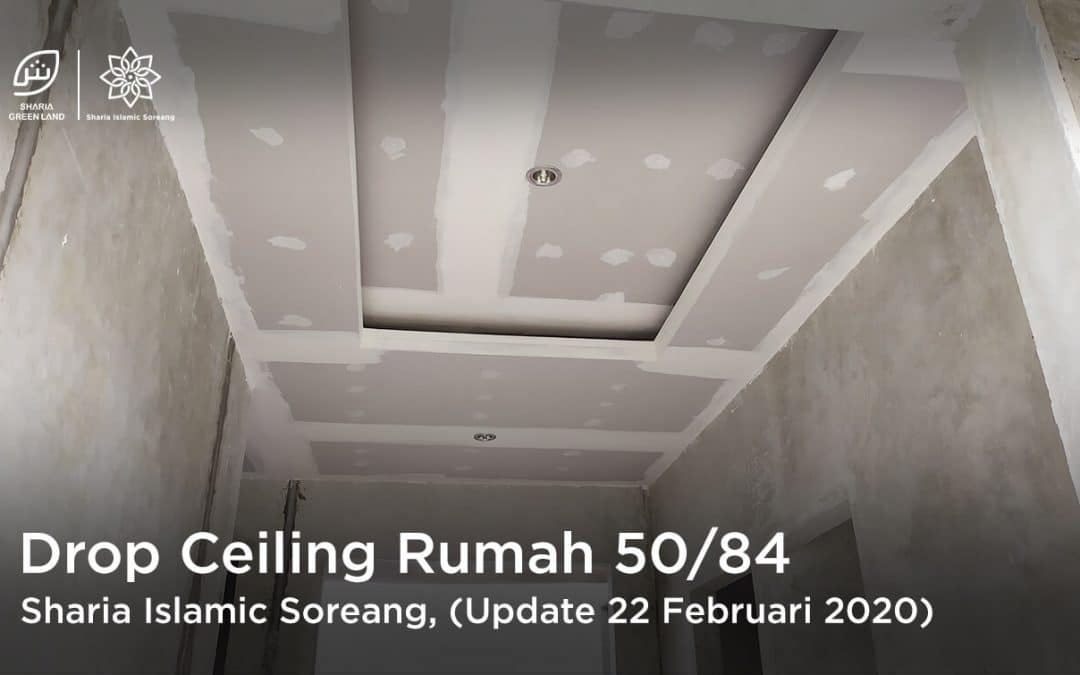 SIS Update: Pemasangan Drop Ceiling