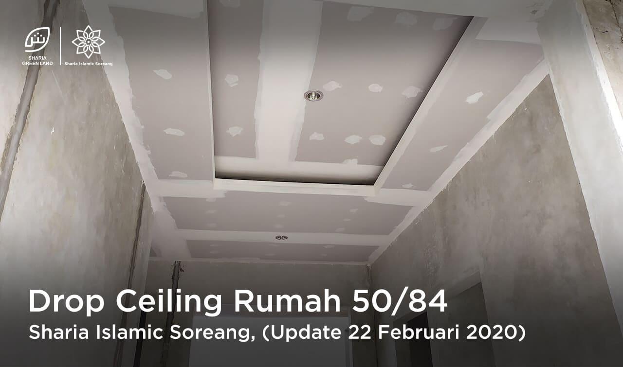 SIS Update Pemasangan Drop Ceiling