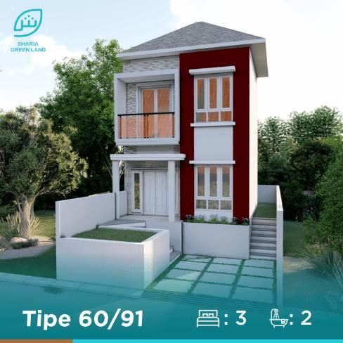 Puri Nirana Cigelam rumah tipe 60, perumahan syariah Purwakarta, satu proyek Sharia Green land, developer properti syariah