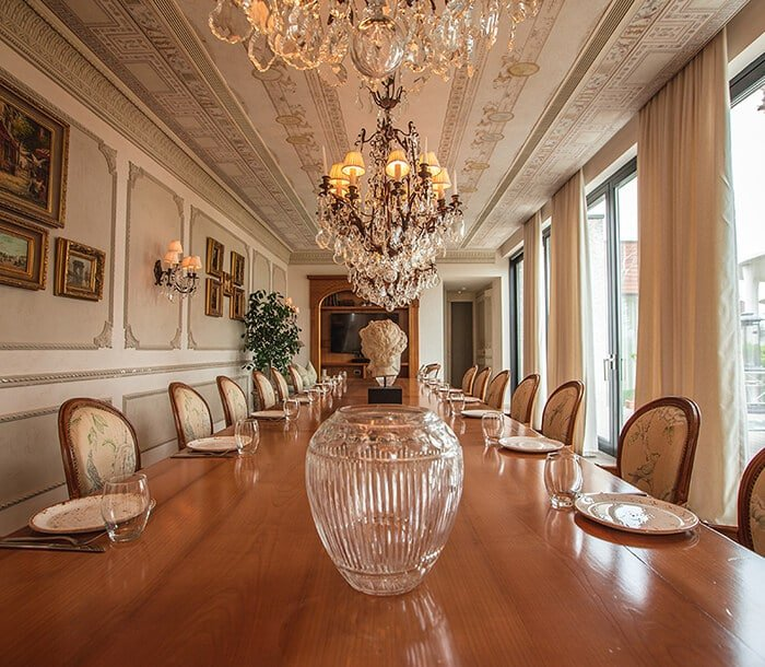 ruang makan terpisah