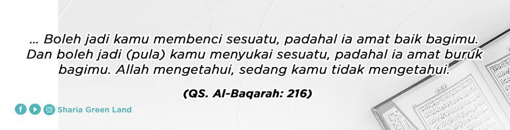 ayat Jihadnya Para Istri Dalam Rumah Al Baqarah 216