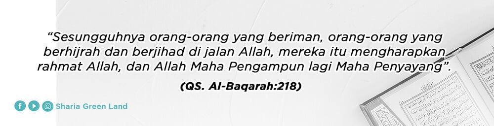ayat Jihadnya Para Istri Dalam Rumah Al Baqarah 218