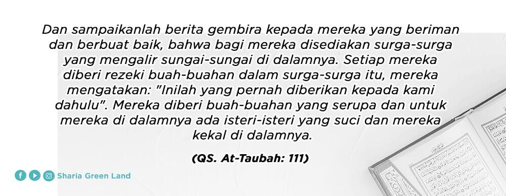 ayat Jihadnya Para Istri Dalam Rumah Attaubah 111