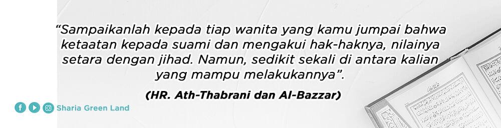 hadis Jihadnya Para Istri Dalam Rumah ath thabrani