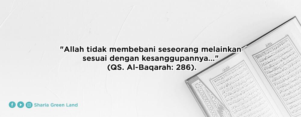 surah Al Baqarah ayat 286 - mewujudkan rumahku surgaku