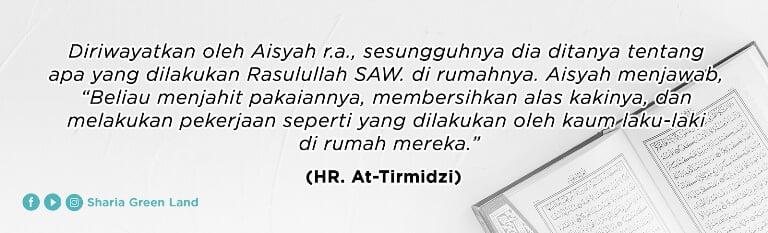 (HR. At-Tirmidzi) tentang membahagiakan istri