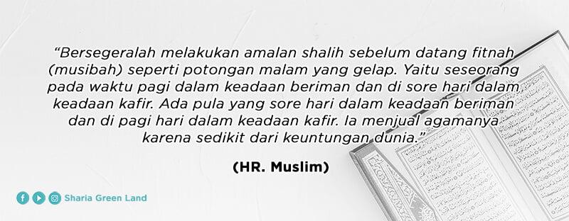 HR. Muslim - Menjaga Diri dan Keluarga dari Api Neraka