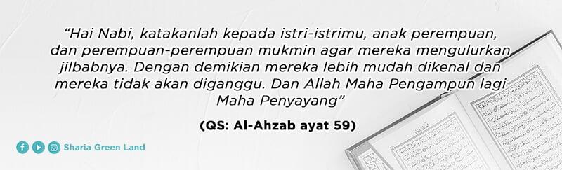 (QS al-Ahzab ayat 59) - Peran Ayah dalam Mendidik Anak