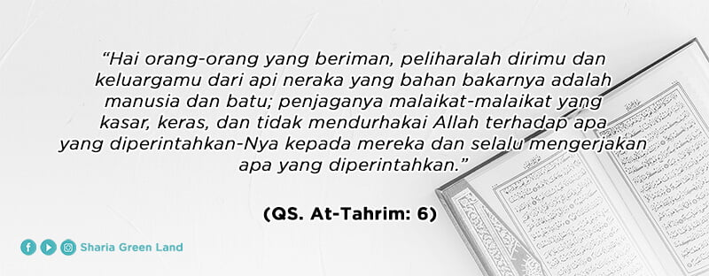QS. At-Tahrim 6 - Menjaga Diri dan Keluarga dari Api Neraka