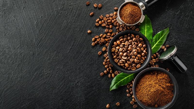 bubuk kopi sebagai Cara Mengusir Cicak