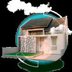 rumah tipe 45 di Sukamanah Islamic Village 200px